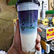 Hoa đậu biếc latte