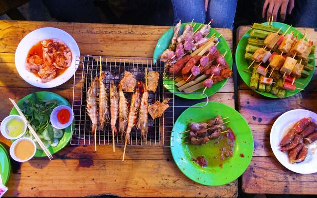 Happy BBQ 2 Xiên Nướng Đồng Giá 5K - Lý Chính Thắng