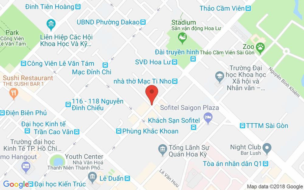 Vị trí bản đồ Vincom Center, Lê Thánh Tôn Quận 1 TP. HCM