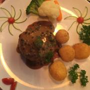 Beefsteak sốt tiêu