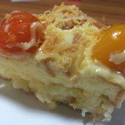 Bông lan trứng muối cream cheese