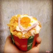 Cup cake cream cheese đặc biệt