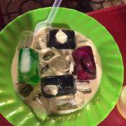 Thạch phô mai thạch trái cây