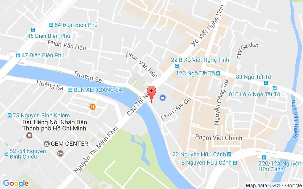 Vị trí bản đồ 11 Nguyễn Ngọc Phương, P. 19 Quận Bình Thạnh TP. HCM