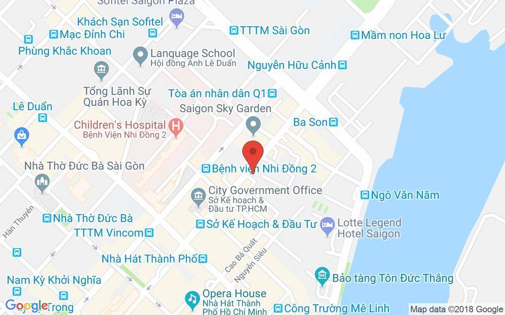Vị trí bản đồ 15B8 Lê Thánh Tôn, P. Bến Nghé Quận 1 TP. HCM