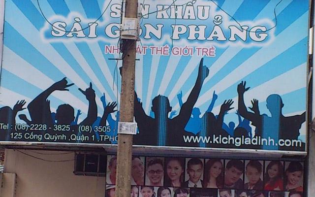 Sân Khấu Sài Gòn Phẳng - Cống Quỳnh
