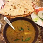 Goat curry + Butter naan