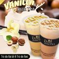 Trà sữa vanilla