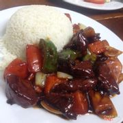Beef (Luc Lac) with Rice