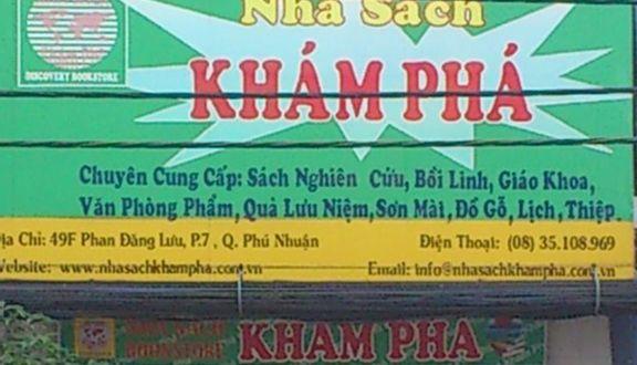 Nhà Sách Khám Phá - Phan Đăng Lưu