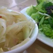 Măng và rau ăn kèm