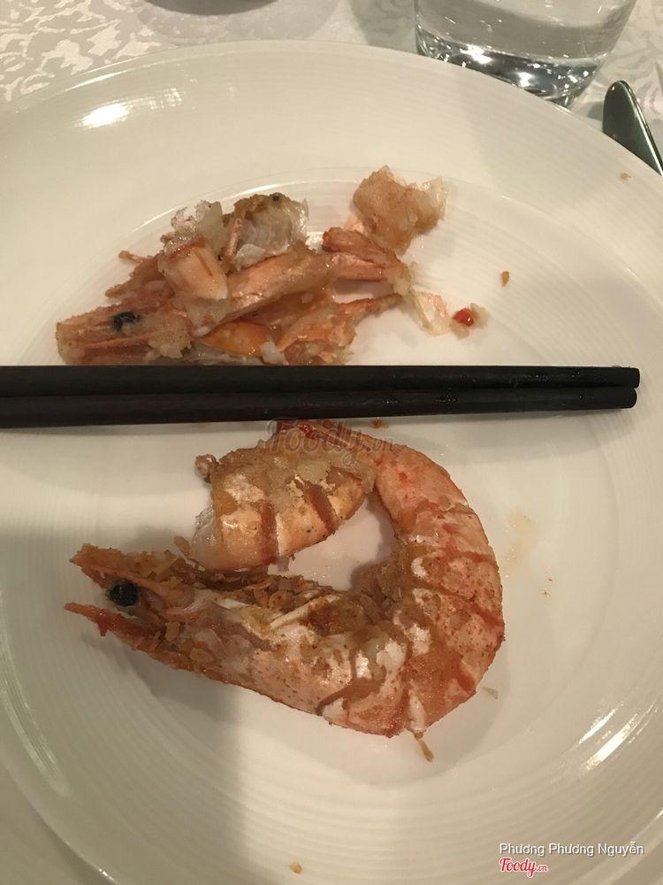 Tôm rang muối kiểu HongKong