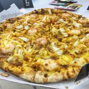Pizza hải sản sốt Singapore (đế vừa ⁉️)