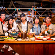 Themed Party : Pirates of Saigon aboard the Historic Lady Hau