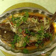 cá bống mù hấp Hồng Kông