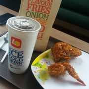 Combo HS + pepsi + French fries 81k