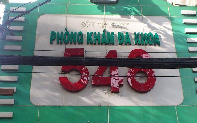Phòng Khám Đa Khoa 548 - Nguyễn Chí Thanh