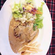 steak bò sốt phomai