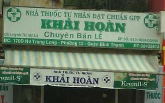 Nhà Thuốc Tây Khải Hoàn - Nơ Trang Long