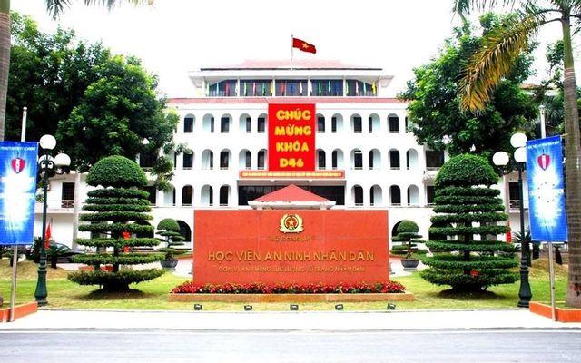Học Viện An Ninh Nhân Dân C500