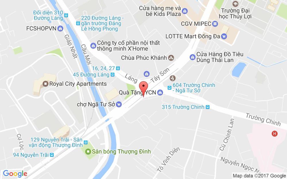 Vị trí bản đồ 49 Nguyễn Trãi Quận Thanh Xuân Hà Nội