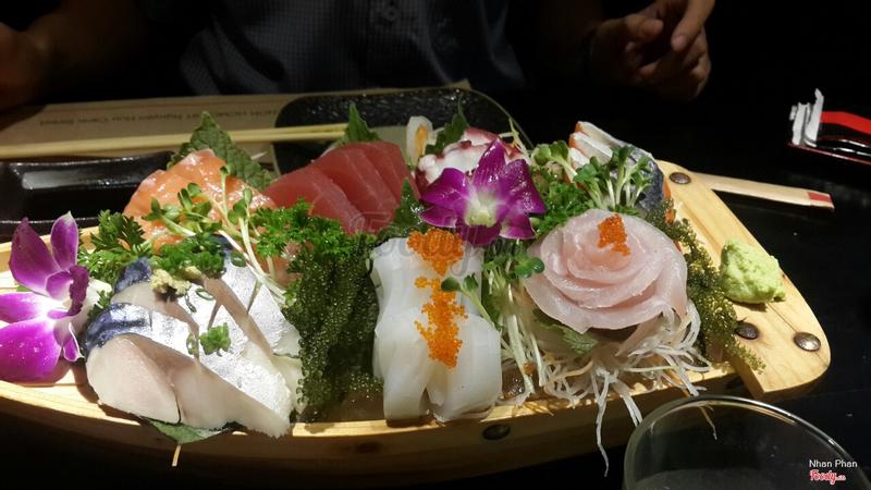set sashimi 600k