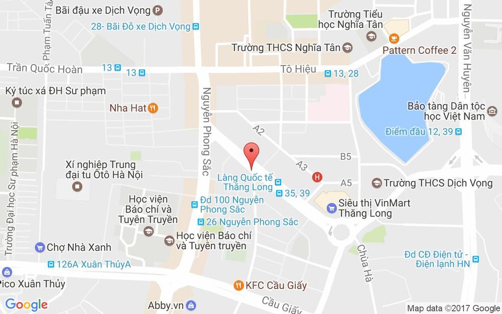 Vị trí bản đồ Nhà Thuốc Thái Anh - Trần Đăng Ninh ở Hà Nội