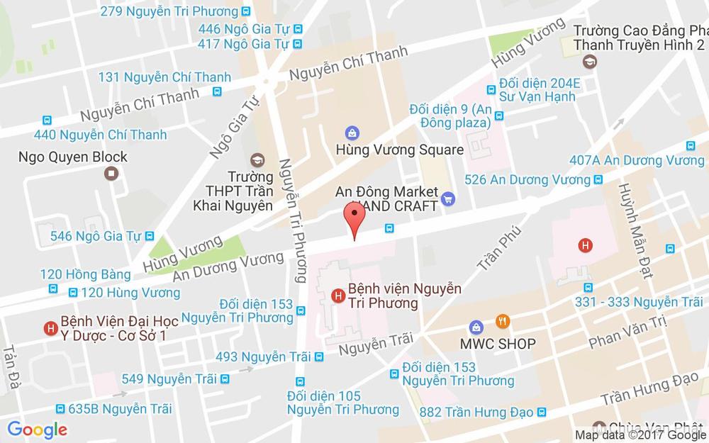 Vị trí bản đồ Ngoại Ngữ Thần Đồng - An Dương Vương ở TP. HCM
