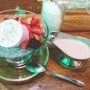 Beries dessert