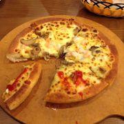 Seafood pesto Pan