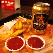 Khoai tây chiên vừa<a class='hashtag-link' href='/ho-chi-minh/hashtag/sapporopremiumbeer-188774'>#SapporoPremiumBeer</a>