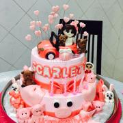 Bánh sinh nhật 2 tầng