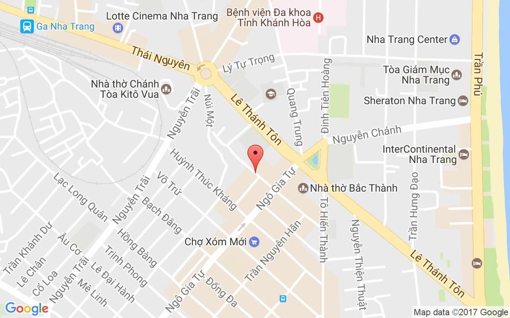 Vị trí bản đồ 27 Lê Quý Đôn Tp. Nha Trang Khánh Hoà