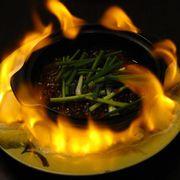 Bò quanh lửa hồng- Beef on fire