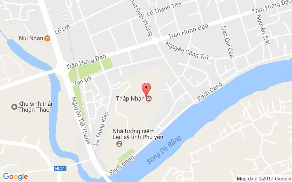 Vị trí bản đồ Tháp Nhạn Phú Yên ở Phú Yên