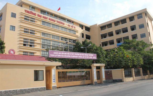 Đại Học Ngoại Thương Cơ Sở 2 Tại TP Hồ Chí Minh