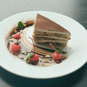Mousse socola trắng