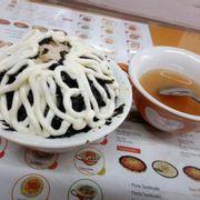 cơm cá ngừ kim chi