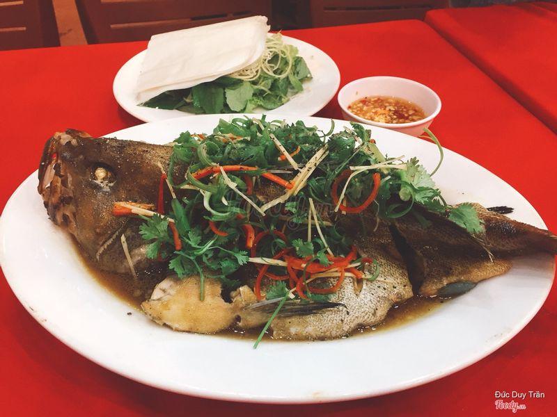 Cá mú hấp HongKong
