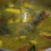 Canh cá quả (Chuối đậu)