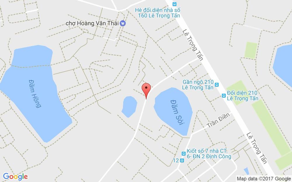 Vị trí bản đồ 116 Ngõ 192 Lê Trọng Tấn Quận Thanh Xuân Hà Nội