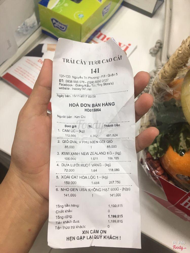 Trái Cây 141 - Nguyễn Tri Phương ở TP. HCM