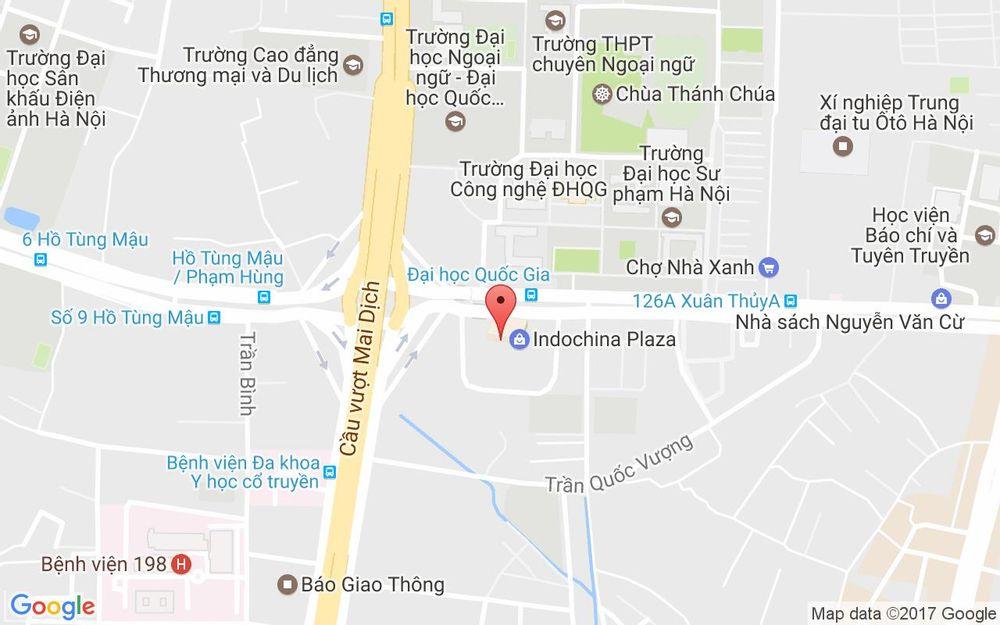 Vị trí bản đồ IPH - Xuân Thủy ở Hà Nội