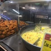 Cơm chiên dương châu + gà rán