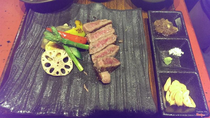 Set thịt bò Nhật