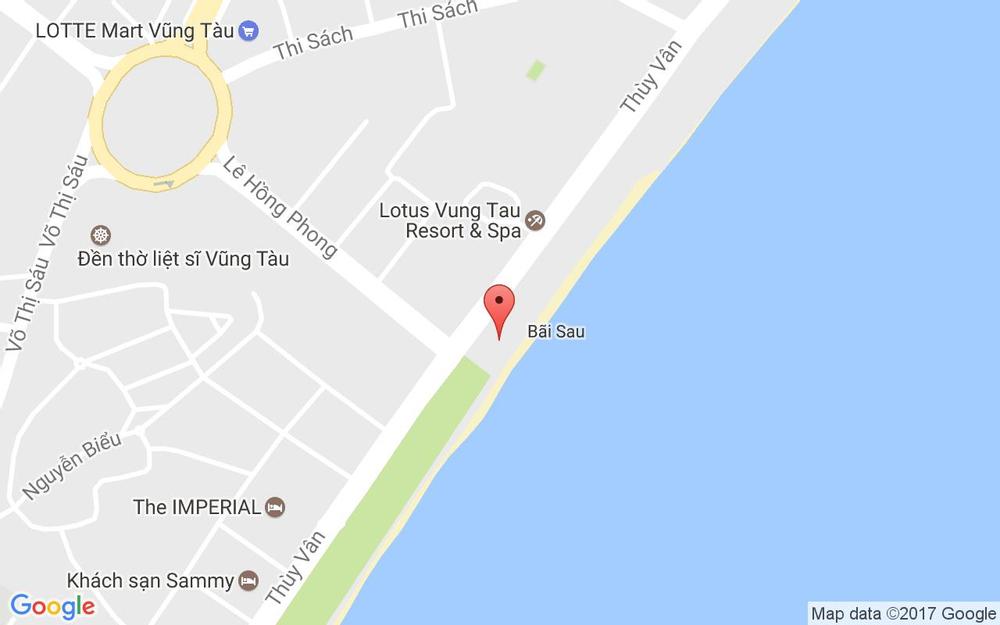 Vị trí bản đồ Khu Du Lịch Nghinh Phong - Thùy Vân ở Vũng Tàu