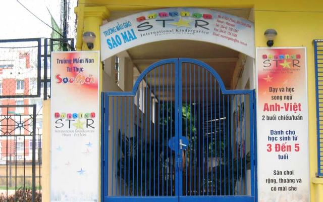 Trường Mầm Non Tư Thục Sao Mai - Vạn Phúc