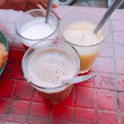 Sữa đường 8k, sữa bò 10k