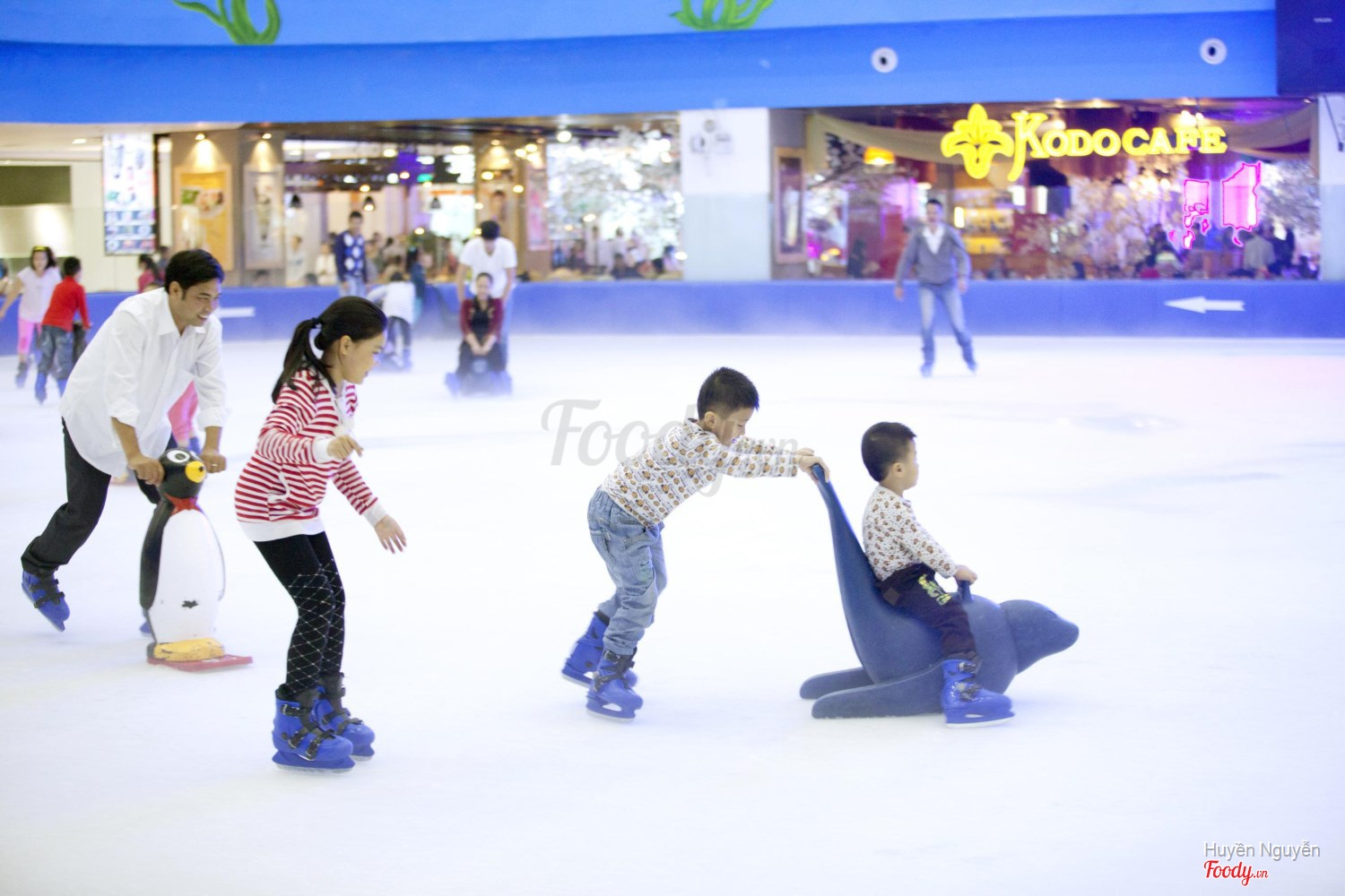 Image result for vincom royal city ice skating