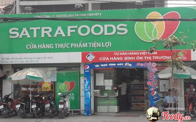 SatraFoods - Cửa Hàng Thực Phẩm Tiện Lợi - Bà Hom
